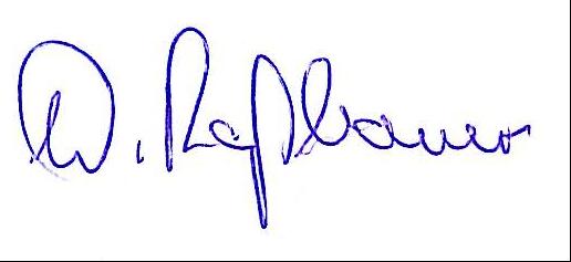 Unterschrift Roßbauer